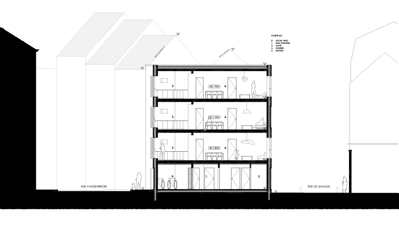 atelier4cinquieme, atelier 4/5, atelier 4/5e, florent grosjean, jean-françois glorieux, architectes, architecture, bruxelles, mobilier, design, rénovation, construction neuve