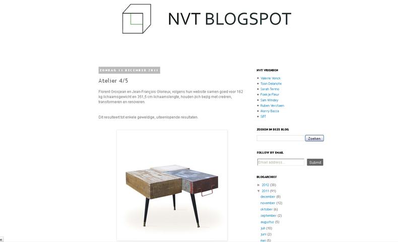 atelier 4/5 - atelier4cinquieme - mobilier - design - nvt blogspot