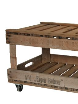 atelier 4/5 - atelier4cinquieme - mobilier - reuse slow design - brocante - table basse - cageot - crate table